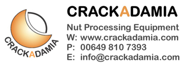 Creators of macadamia nut cracking machines Logo
